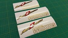 Renault Clio Williams 2 litre Swiss Champion replacement decal sticker graphics