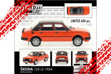Skoda 120 LS (1984) orange/red Retro line limited edition 600 pcs /Foxtoys/ 1:43