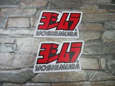 2x Aufkleber Sticker Motorradsport Biker Yoshimura Tuning Motorsport Motorcross