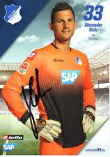 Alexander Stolz TSG Hoffenheim 2014/15 handsignierte Autogrammkarte 14/15