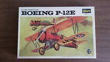 Hasegawa Boeing P-12E 1/32 scale vintage airplane warbird model kit