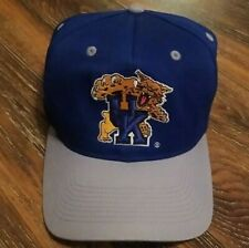 Vintage 80s - 90s Kentucky Wildcats UK Logo Snapback Adjustable Hat Cap EUC