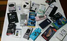 * ASSORTED CELL PHONE ACCESSORIES *RETURNS * UNTESTED AND MAY HAVE MISSING PARTS