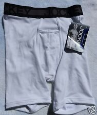 Jockey Cotton Performance  Mens  MIDWAY  Brief White Sz Small 28-30 New w/Tags