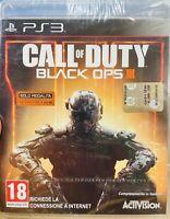 CALL of DUTY BLACK OPS III ITALIANO PLAYSTATION 3 NUOVO DI ZECCA SIGILLATO PS3