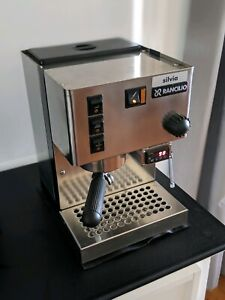 Rancilio Silvia PID espresso coffee machine