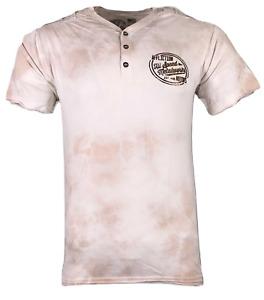 AFFLICTION Men's T-Shirt SPEED METALWORK Biker Skulls MMA
