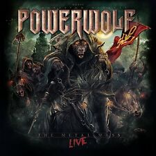 POWERWOLF - THE METAL MASS-LIVE   CD NEUF