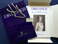 Dresses from the Collection of Diana Christie's 1997 boxed with bag & badge