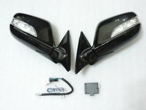 NEW~Auto~Power Folding Mirrors With wiring for HONDA ACCORD 08 ~12 8th Gen