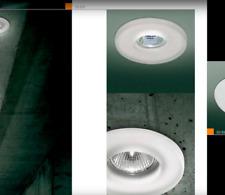 Leucos ITRE Faretto a incasso SD 810 cristallo satinato GU10 vetro di murano