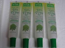 Lot of 4 Tubes Via Care Ultra Care Tea Tree Oil For Hair, Scalp & Body