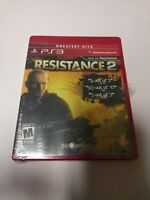 Resistance 2 -- Greatest Hits (Sony PlayStation 3, 2008) ps3 new