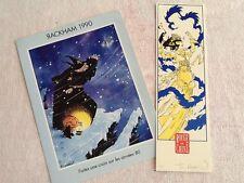 """2 ROBIN CP 1990 """"SÉRIGRAPHIE SIGNÉE"""" auteur ROUGE de CHINE,KOBLENZ,MORT du TSAR"""