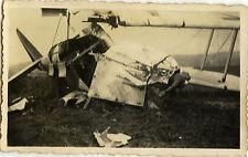 PHOTO ANCIENNE - VINTAGE SNAPSHOT - AVION CRASH ACCIDENT PÉRIGUEUX - PLANE 6