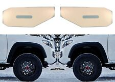 Super White Vinyl Decals For 2016-2018 Toyota Tacoma Side Marker Lights New