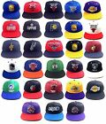 ADIDAS NBA TEAM COLOR SNAPBACK HAT CAP ADJUSTABLE FLAT BILL LOGO MASCOT RETRO