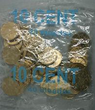 Ek // Sachets d'origine 10 Cent Portugal 2002 : 40 Pièces