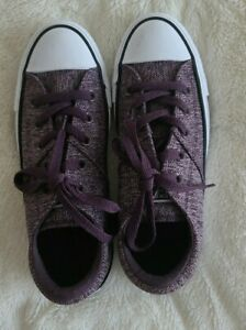 CONVERSE ALL STAR women Athletic Sneakers Shoes Size 6 Purple