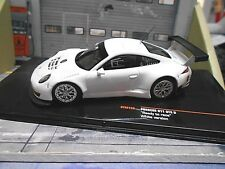 PORSCHE 911 991 GT3 R 24h Testcar Test white weiss plain body NEW IXO 1:43