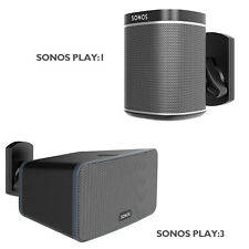 Speaker Wall Mount Bracket for SONOS PLAY:1 and PLAY:3 Pivot Tilt Swivel Black