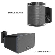 Speaker Wall Mount Bracket for SONOS PLAY:1 and PLAY:3 Pivot Tilt Swivel Black