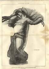 1902 Cartoon Design Public Building Solomon Maske Cupid