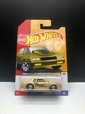 2019 Hot Wheels Target Decades Throwback 4/8 '86 MONTE CARLO SS Gold w/BW VHTF
