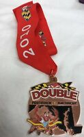 2010 Frederick Baltimore Double Marathon Finisher Medal and Ribbon