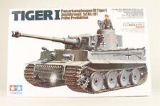Tamiya 1/35 scale WW2 German Tiger I Early Production tank
