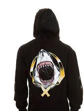 Rook Chrome Shark Hoody (L) Black