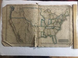 1830 COLLECTION MAPS Atlas World Early US United States Settlers Era American