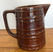 """Mar-Crest Vintage Pitcher 6"""" Very Good Condition Daisy Dot"""