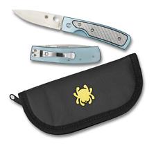 Spyderco Centofante Memory Knife C155TIP VG-10 Blade Glass Fiber / Titanium -Dlr