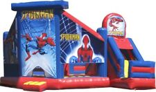 SpiderMan Outer Slide Jumping Castle Hire