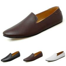 Men Pumps Slip on Loafers Soft Flats Breathable Casual Driving Moccasins Shoes L