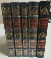 Easton Press John F and Robert F Kennedy 5 Vol. Leather Bound Collector Edition