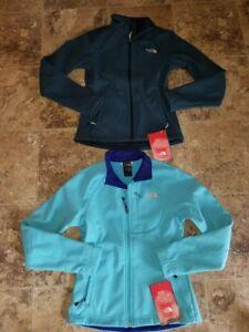 Nwt Womens The North Face Apex Bionic Jacket Kodiac Blue Softshe'l XS S