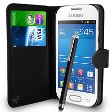 Wallet Case Pouch PU Leather Cover For Samsung Galaxy Fame S6810 S6810P Mobile