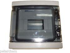 8 Module Weatherproof Electrical Enclosure IP65  Contactors Timers Consumer Unit