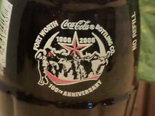 Ft. Worth Coca Cola Bottling Company 100 Years bottle