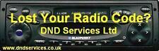 Blaupunkt Radio Code decodieren entsperren mit Seriennummer-Augsburg C30 CR24