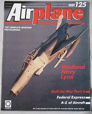 Airplane magazine Issue 125 Westland Navy Lynx Cutaway drawing & Poster