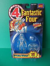 """Fantastic Four Invisible Woman Clear Action 5""""IN FIGURE TOY BIZ"""