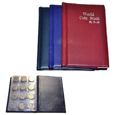 Collecting 120 Coin Collection Storage Holders Money Penny Album Book Pocket New