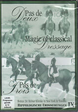 NEW DVD Pas de Deux, Magic of Classical Dressage, Pas de Trois, Klimke Ahlerich