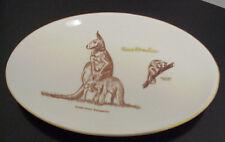 Australia Oval Kangaroo & Ring Tailed Possum Souvenir Collector Plate A-328