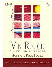 Etiquette de vin - Wine Label