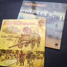 PAINT YOUR WAGON film soundtrack OST 2-LPs CLINT EASTWOOD LEE MARVIN Brian Fahey