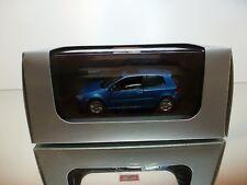 SCHUCO VW VOLKSWAGEN GOLF V - BLUE METALLIC  1:43 - EXCELLENT IN BOX